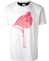 Paul Smith Flamingo Tshirt - Lyst