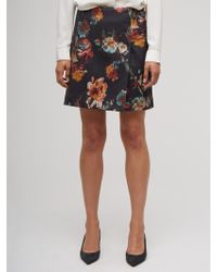 Jigsaw - Needle Punch Floral Wrap Skirt - Lyst