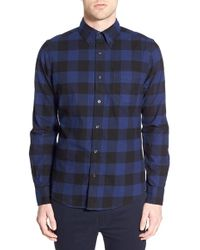 Deus Ex Machina - 'albie' Buffalo Check Flannel Shirt - Lyst