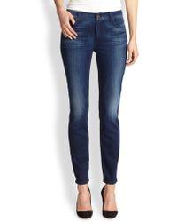 Jen7 Skinny Midrise Jeans - Lyst