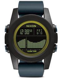 Nixon 'The Unit Tide' Digital Watch black - Lyst