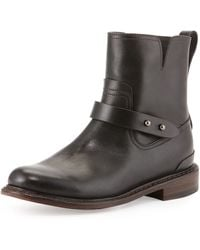 Rag & Bone Ashford Short Moto Boot - Lyst
