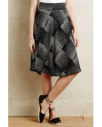 Harlyn - Stippled Square Skirt - Lyst