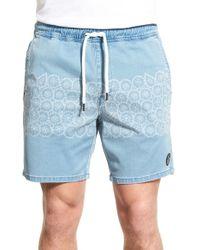 Volcom | 'neo Nuevo - Jammer' Hybrid Print Shorts | Lyst