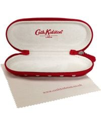 Cath Kidston - Spotted Print Glasses Case Spot - Lyst