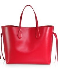 Rochas Borsa String Solid Tote - Lyst