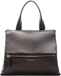 Givenchy Waxy Leather Medium Pandora Flap - Lyst