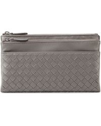 Bottega Veneta Woven Leather Bifold Wallet - Lyst