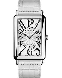 Franck Muller - Ladies Long Island Watch With Alligator Strap - Lyst