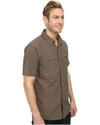 The North Face Short Sleeve Cool Horizon Shirt brown - Lyst
