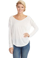 Free People Gatsby Long Sleeved Top - Lyst