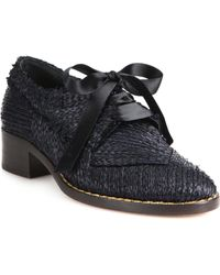Creatures of the Wind - Dirk Raffia Oxfords - Lyst