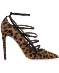 Tabitha Simmons Josephina Leopard Calf-Hair Pumps - Lyst