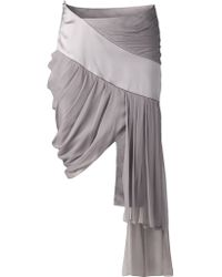 Prabal Gurung Draped Skirt - Lyst