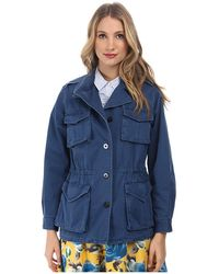 Marc By Marc Jacobs Classic Cotton Army Jacket - Lyst