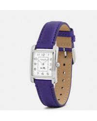 Coach Page Stainless Steel Strap Watch - Lyst