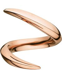 Shaun Leane - Aerial 18ct Rose-gold Crossover Ring - Lyst