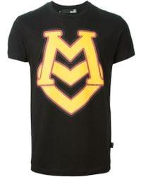 Love Moschino Logo Print T-Shirt - Lyst