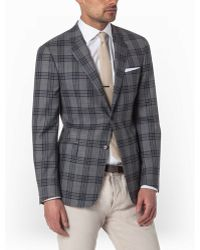 Todd Snyder Bold Check Sportcoat In Grey - Lyst