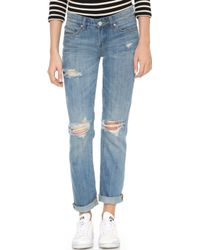 Blank - Tomboy Distressed Jeans - Lyst