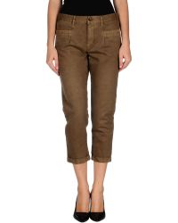 Pence 3/4-Length Trousers - Lyst