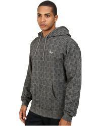 Obey Lowlands Pullover Hood Fleece - Lyst