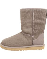 Ugg Classic Short Calf Hair Scales - Lyst