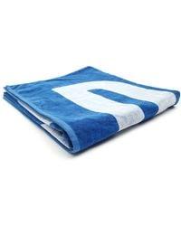 Diesel Helleri Blues Beach Towel blue - Lyst