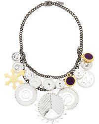 Eddie Borgo - Tricolor Challenge Necklace - Lyst