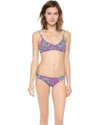 Bantu - High Tide Bikini Shell Pink - Lyst