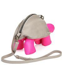 Christopher Raeburn - Tortoise Bi-Color Leather Cross-Body Bag - Lyst