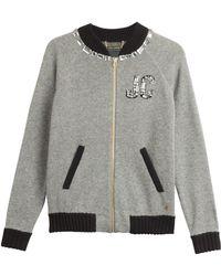 Juicy Couture Varsity Bling Wool Blend Jacket - Lyst