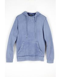 Velvet By Graham & Spencer Filmore Vintage Fleece Hoodie blue - Lyst