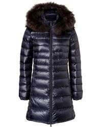 Duvetica Ociroe Down Jacket with Furtrimmed Hood - Lyst