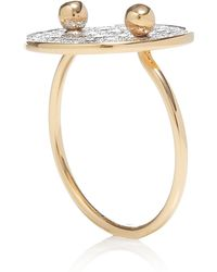 Ginette Ny Large Galaxy Diamond Ring - Lyst