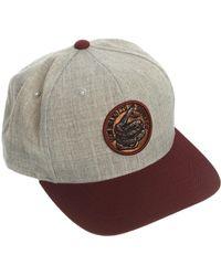 Icon Brand Snapback Cap - Lyst