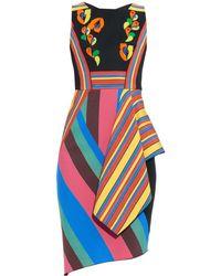 Peter Pilotto Rubix Multi-Stripe Dress - Lyst