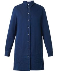 Acne Studios Lyric Denim Shirt Dress - Lyst