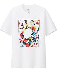 Uniqlo Men Sprz Ny Graphic T Shirt Sam Francis - Lyst
