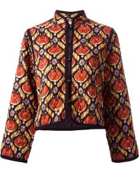Yves Saint Laurent Vintage Quilted Jacket - Lyst