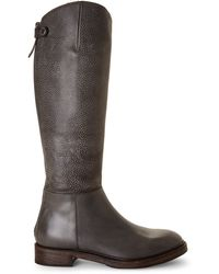 Brunello Cucinelli Pebbled Riding Boots - Lyst