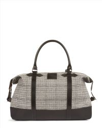 Jaeger - Heritage Check Holdall - Lyst