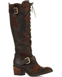 Donald J Pliner Dnali Distressed Boots - Lyst
