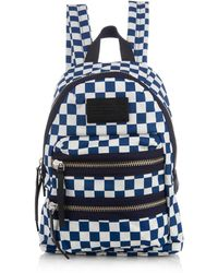 Marc By Marc Jacobs - Mini Packrat Checkerboard-Print Backpack - Lyst