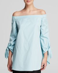 Tibi Tunic - Off The Shoulder - Lyst