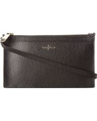 Cole Haan Black Gladstone Pouch - Lyst