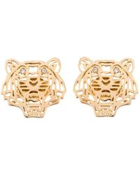 KENZO - 'tiger' Earrings - Lyst