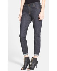 Burberry Brit Relaxed Boyfriend Jeans - Lyst