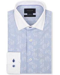 Duchamp Floral Slim-Fit Shirt - For Men - Lyst
