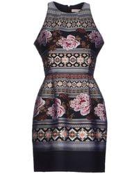 Matthew Williamson Multicolor Short Dress - Lyst
